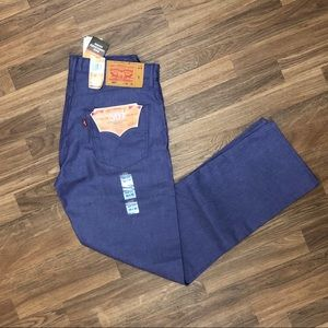 Levi's Jeans - 🆕🔥 Levi's 501 Shrink to Fit Jeans Purple Mens 33